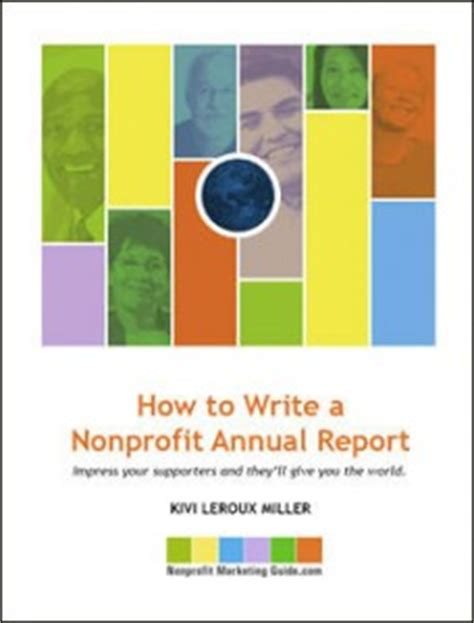 How to write nonprofit annual report